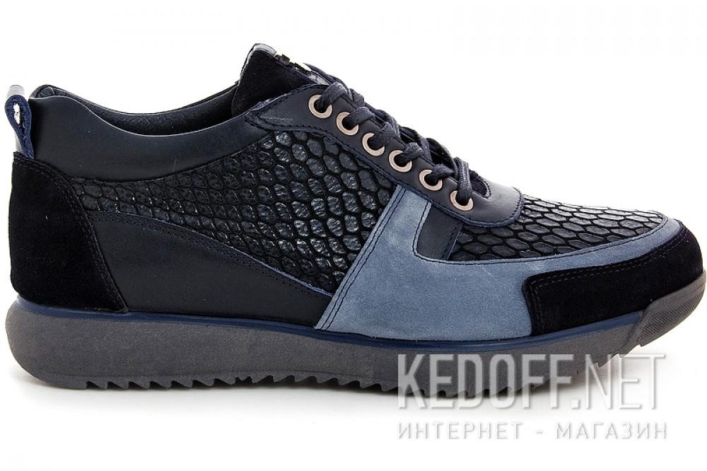 Чоловічі туфлі Forester 7360-89 Чорні
