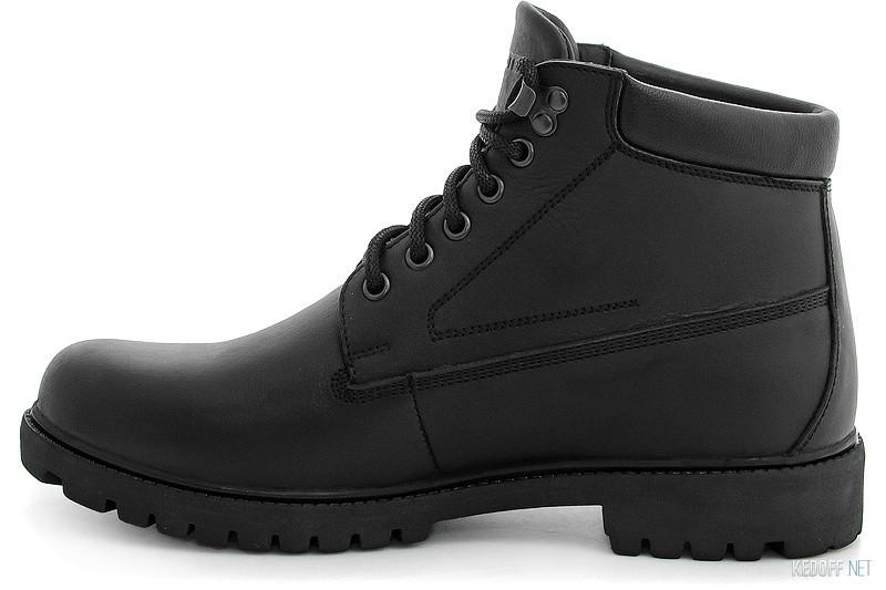 Ботинки Forester Black Wood 751-27 Утеплённые мехом купить Украина
