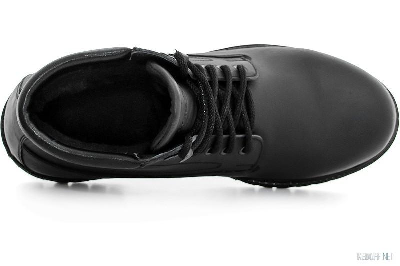Ботинки Forester Black Wood 751-27 Утеплённые мехом все размеры