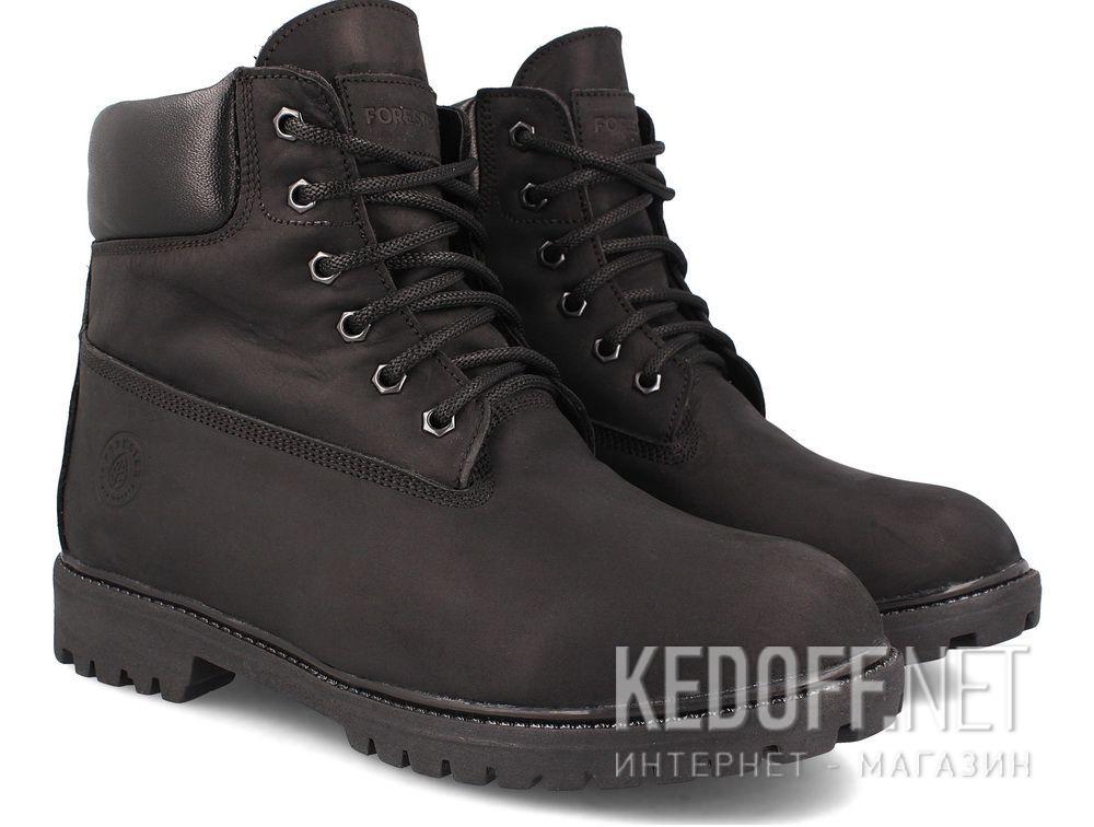 Мужские ботинки Forester Black Lumber Jack 7511-127 купить Украина
