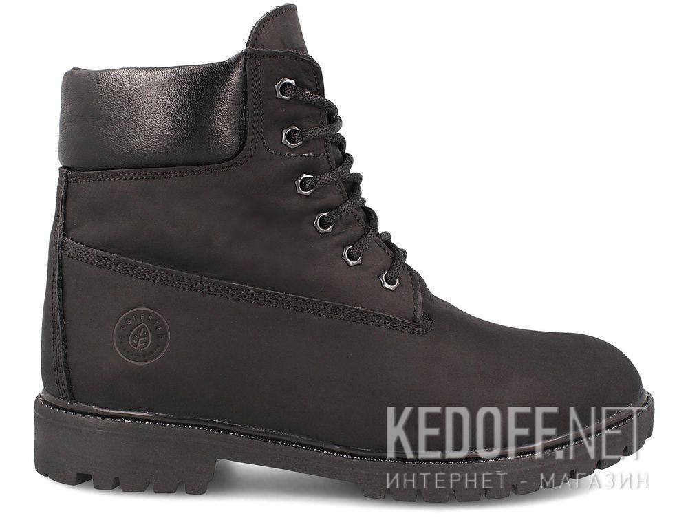 Мужские ботинки Forester Black Lumber Jack 7511-127 купить Киев