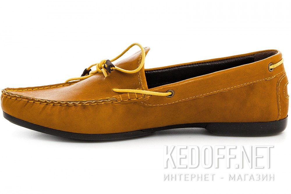 Loafers Forester 7550-21 yellowish- brown color