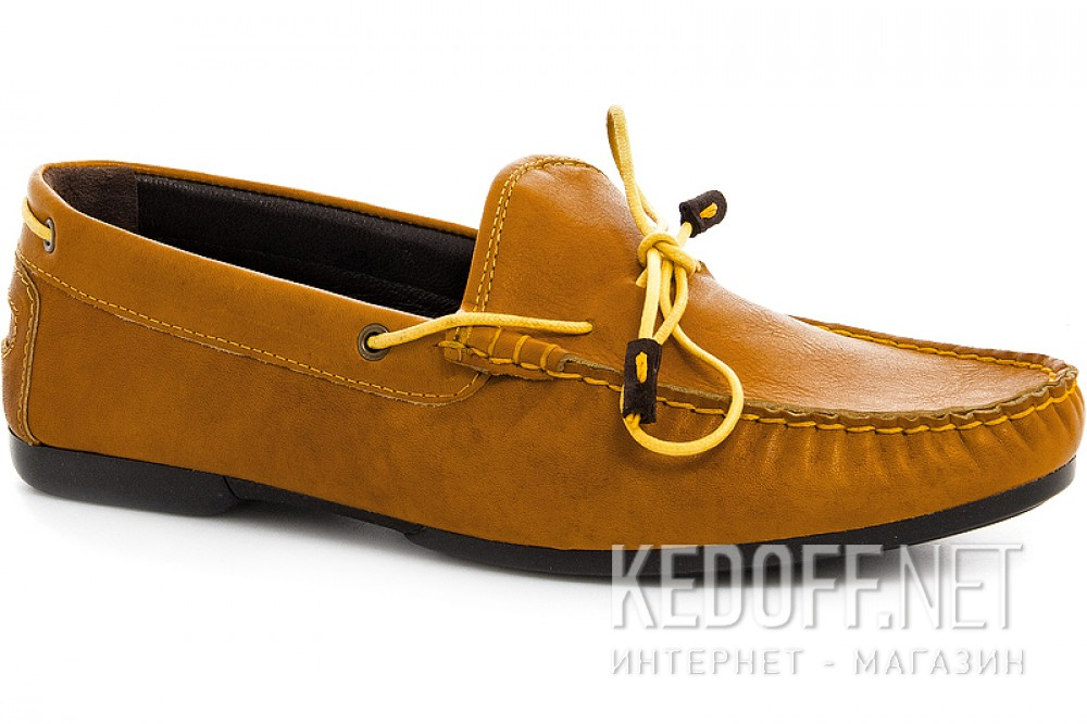 Moccasins Forester 7550-21 light brown color