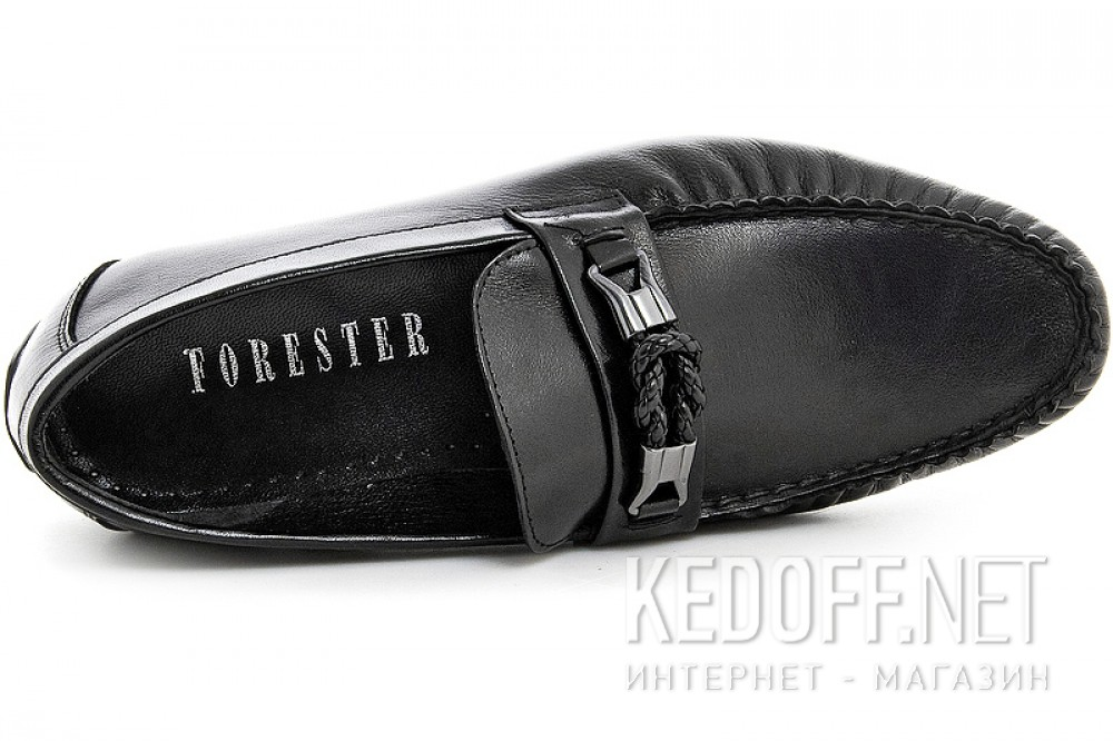 Men's loafers Forester 7560-27 Black