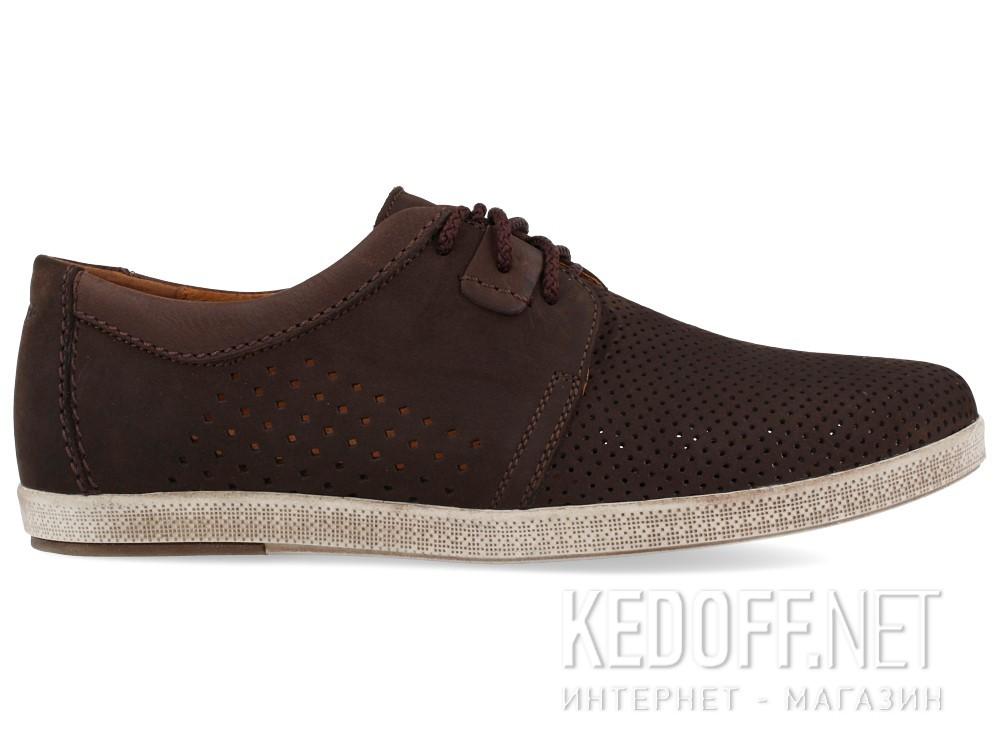 Мужские мокасины Forester 7701-072   (тёмно-коричневый) купить Украина