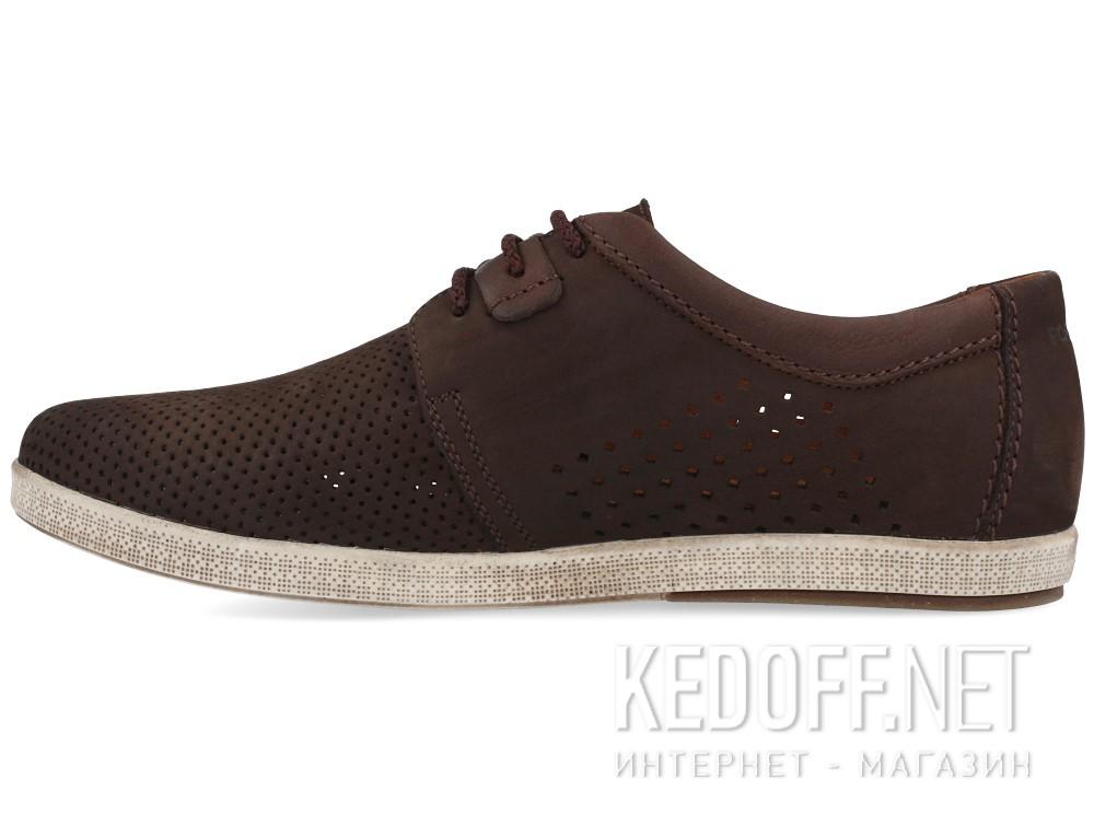 Мужские мокасины Forester 7701-072   (тёмно-коричневый) купить Киев