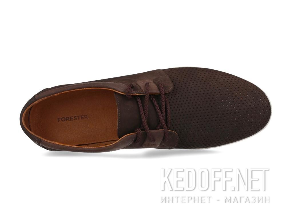 Оригинальные Мужские мокасины Forester 7701-072   (тёмно-коричневый)