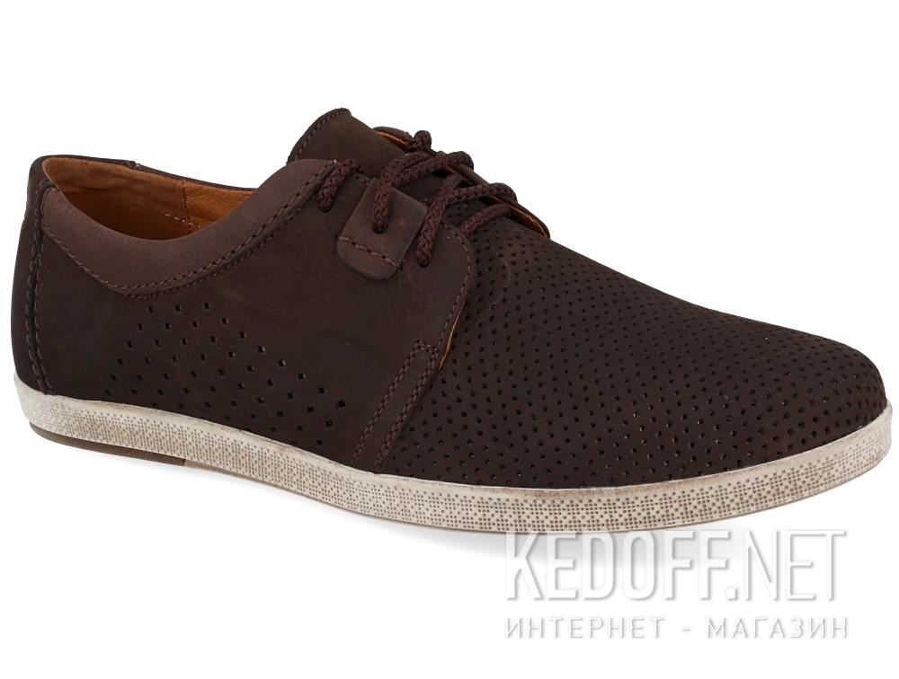 Купить Мужские мокасины Forester 7701-072   (тёмно-коричневый)
