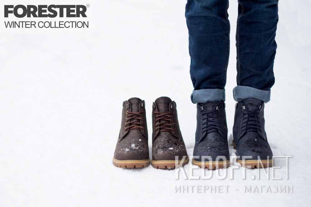 Men's shoes Forester Urbanitas 7751-155  все размеры