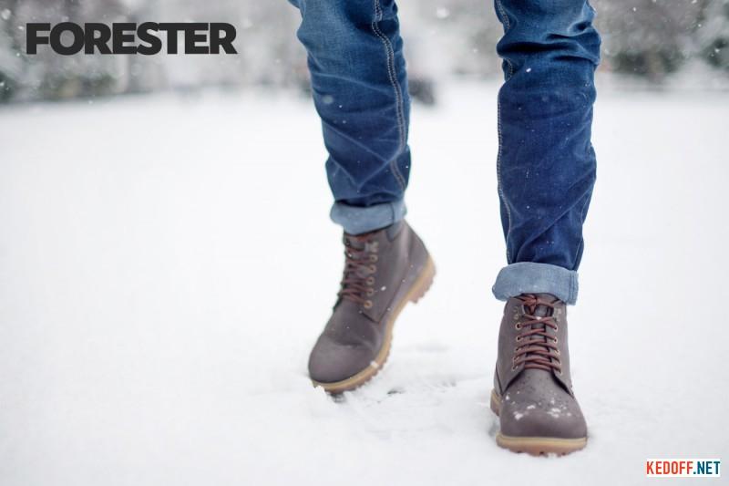 Мужские ботинки Forester Panama Jak 7751-177 все размеры