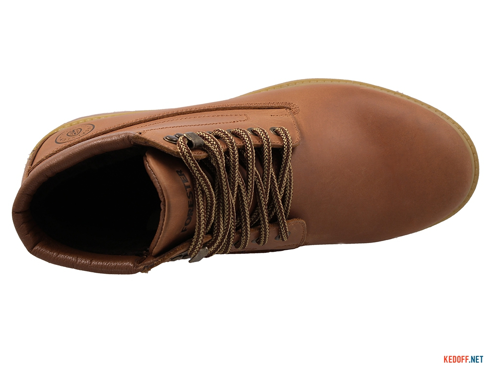 Winter boots Forester 7751-200 Camel Leather With fur