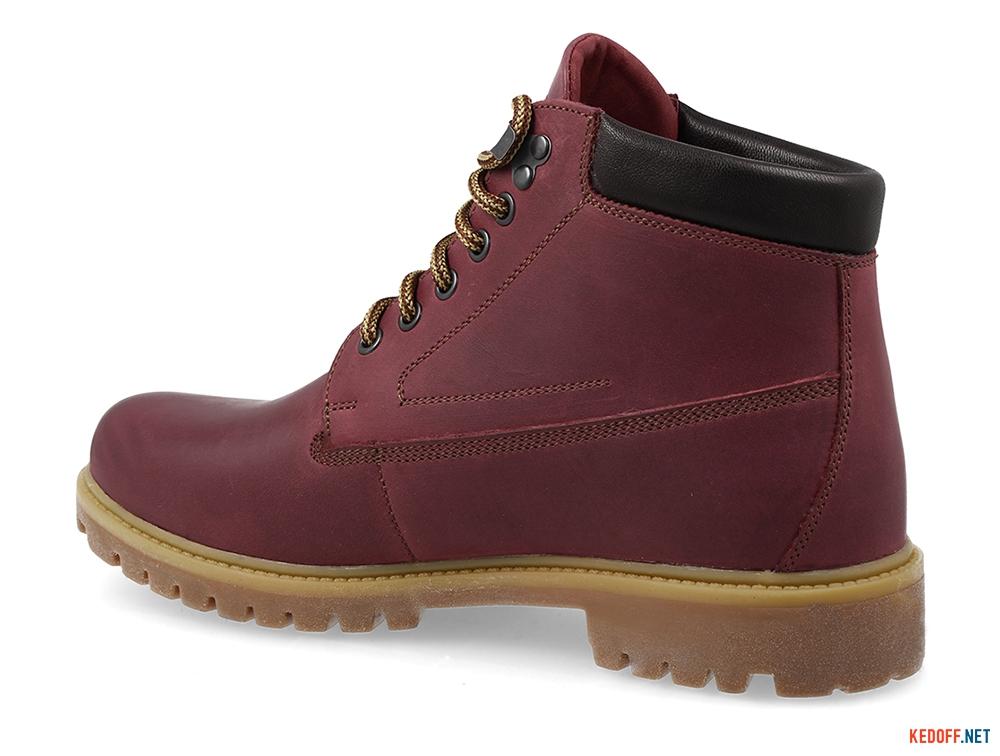 Мужские ботинки Forester Plum Crazy 7751-800 На шерсти