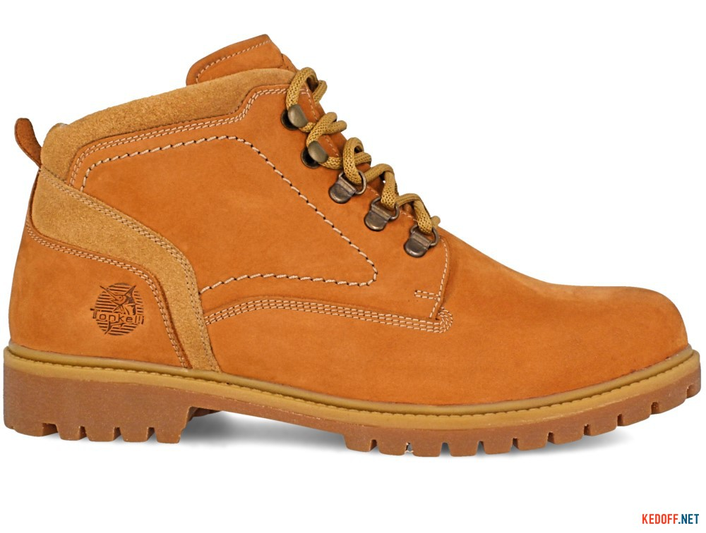Мужские тимберленды Forester Yellow Boots 7755-042 желтый купить Украина