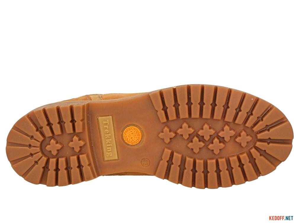 Мужские тимберленды Forester Yellow Boots 7755-042   (жёлтый) описание