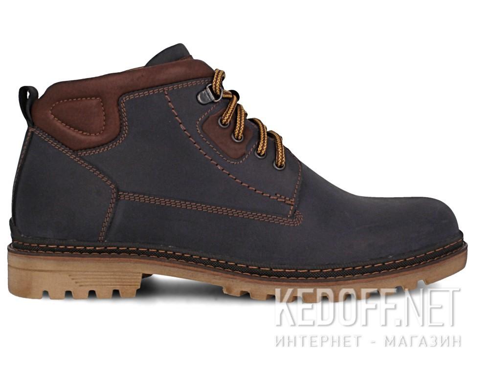 Мужские ботинки Forester 7757-705   (тёмно-синий) купить Украина