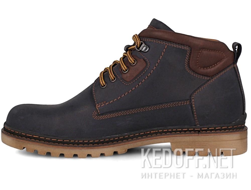 Мужские ботинки Forester 7757-705   (тёмно-синий) купить Киев