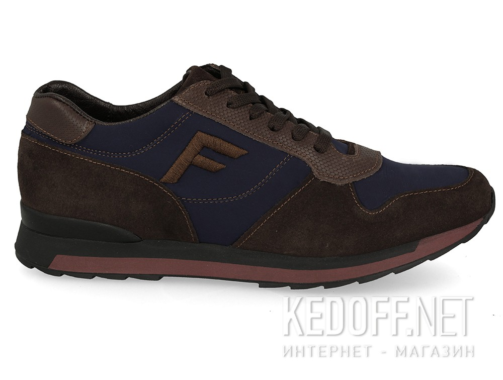 Sneakers Forester Urban Flex 7828-4589 Brown, Blue, Suede, Textile