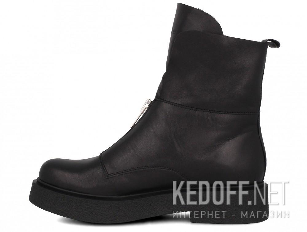 Женские ботинки Forester Woman Zip Black Mid 81801-27  купить Киев