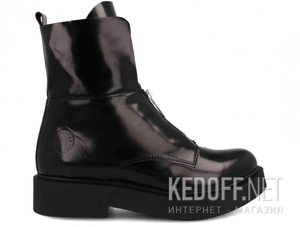 Женские ботинки Forester Zip Nappa 81891-27 купить Киев