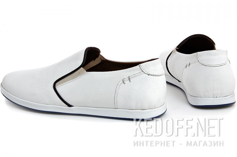 White moccasins Forester 8265-213 Dt