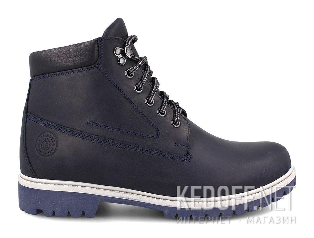Мужские ботинки Forester Blu Marine 85751-005 купить Киев