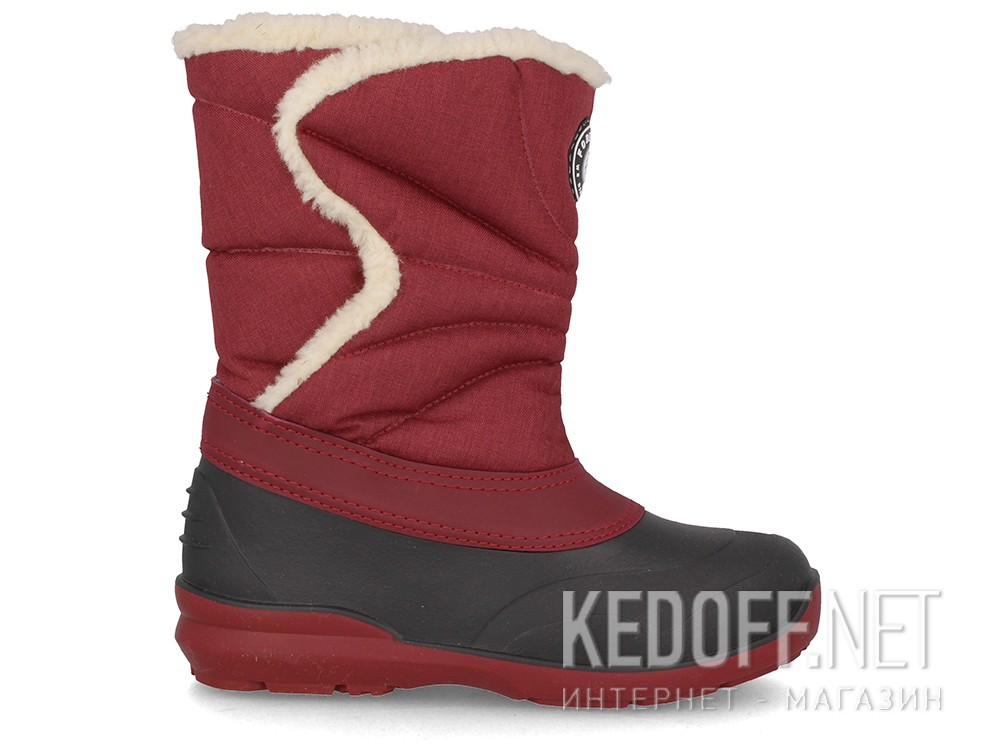 Зимові чоботи Forester Arktika A701-48 Bordo