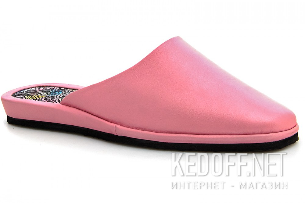Home Slippers Forester Home 1070-130 Pink leather