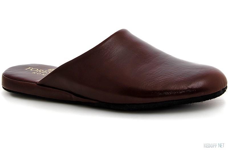Купить Кожаные тапочки Forester Home 771-45