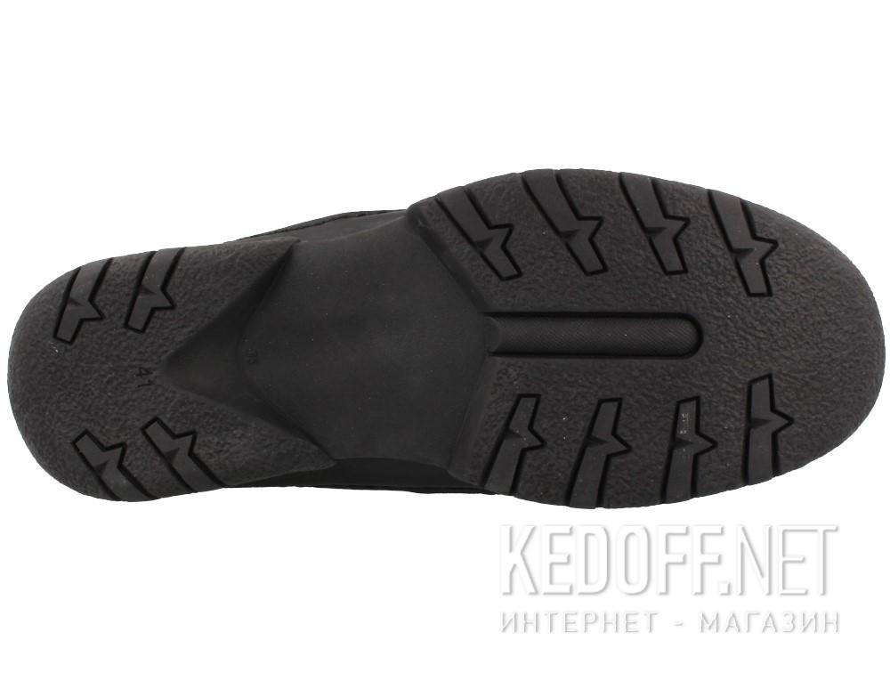 Оригинальные Мужские мокасины Forester Perforation 19600-27   (чёрный)