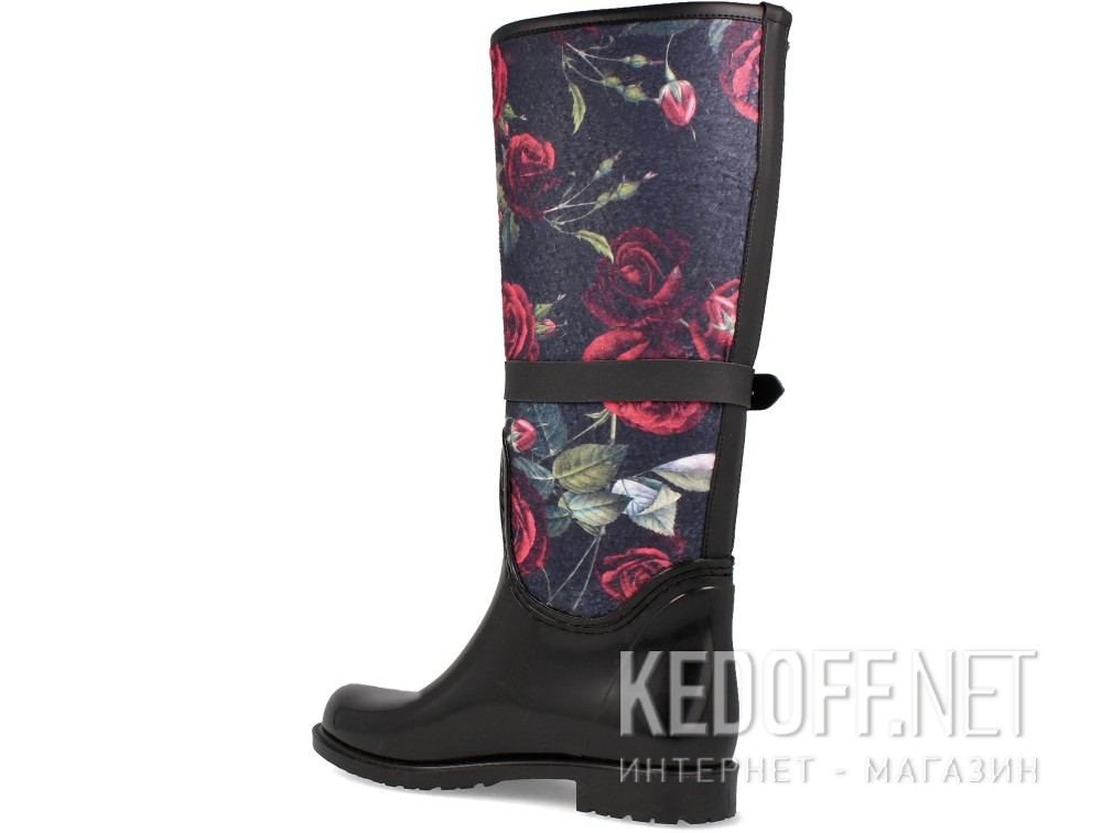 Rubber boots Forester Rain 1980-27 Black Roses