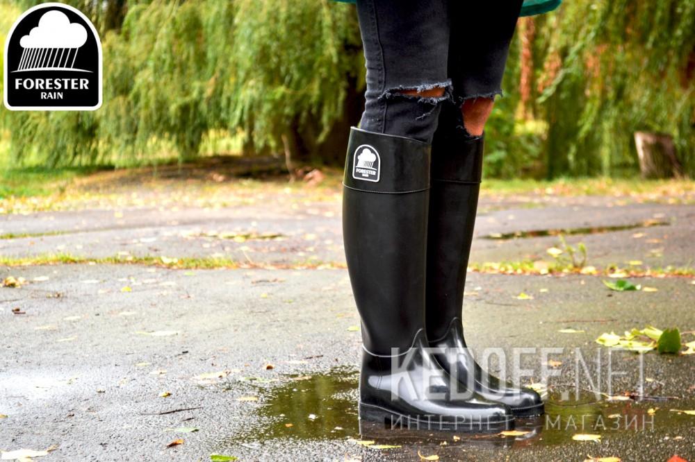 Rubber boots Forester Rain 1986-27 Black