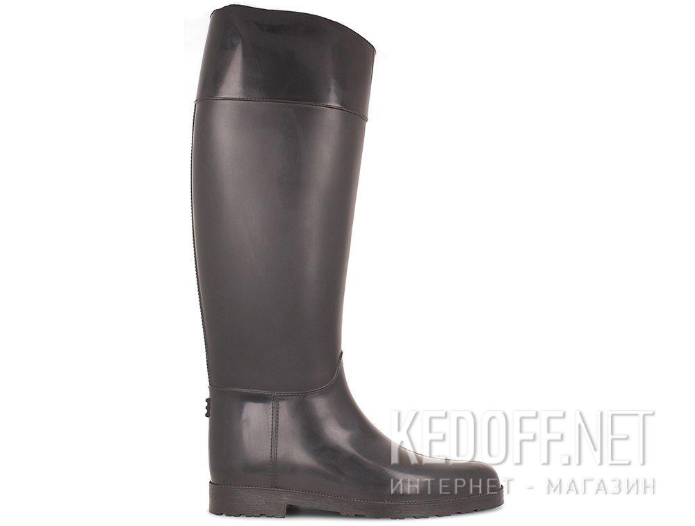 Женские резиновые сапоги Forester Rain 1987-37 Серые купить Украина