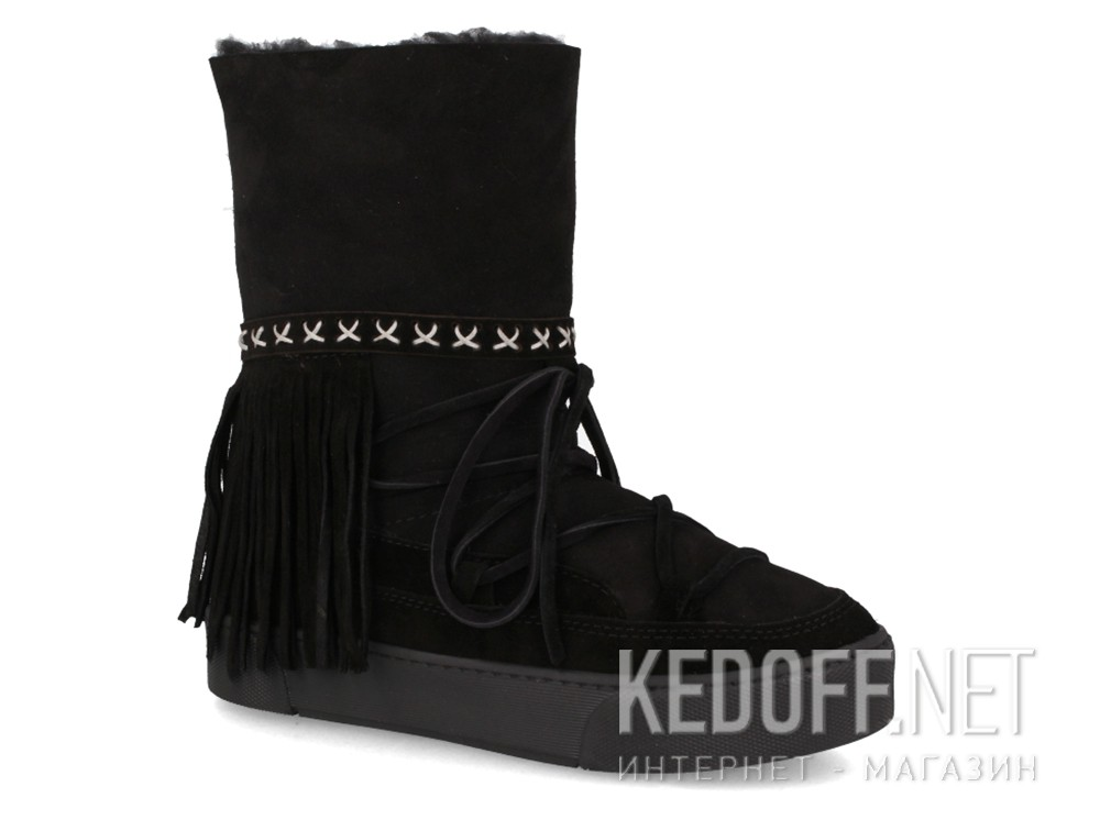 Winter boots fur Forester Inkas 659526-27 Black, Suede