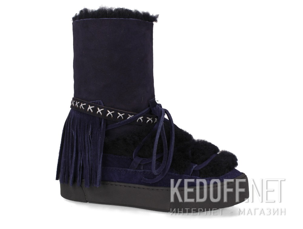 Winter boots Forester Sheep 659526-89 Dark blue sheepskin
