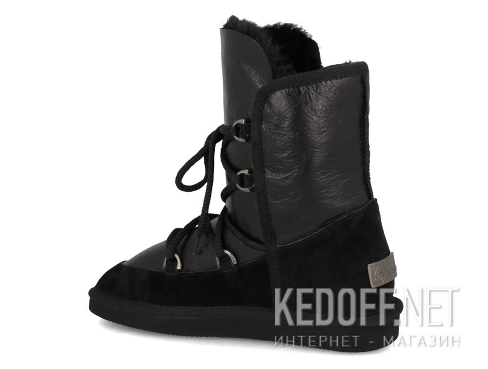 Угги Forester 101060-2302 унисекс   (чёрный) купить Украина