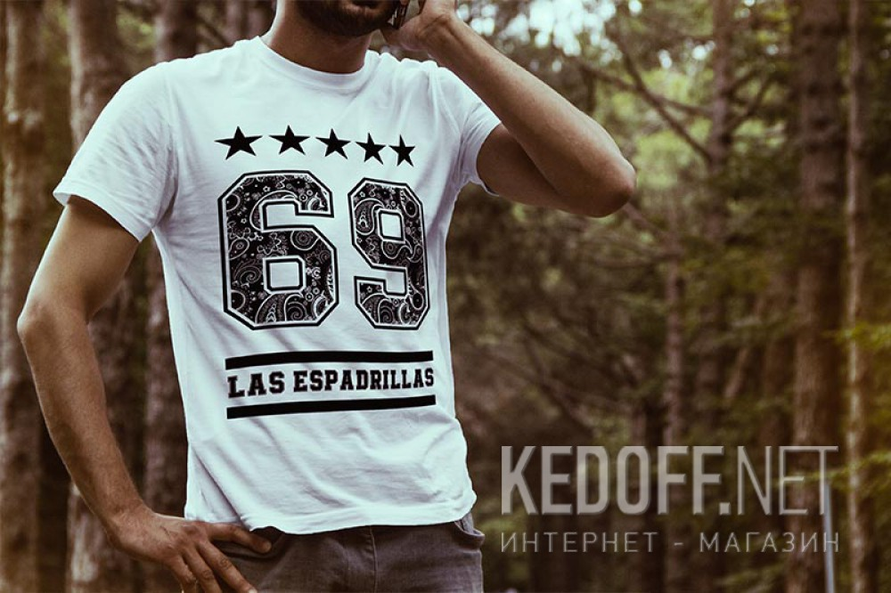 Футболки Las Espadrillas 405105-F255   (белый) купить Украина