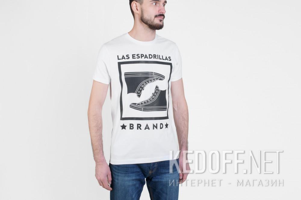 Мужские футболки Las Espadrillas 46530-F255   (белый) купить Украина