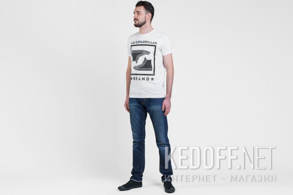 Мужские футболки Las Espadrillas 46530-F255   (белый) купить Киев