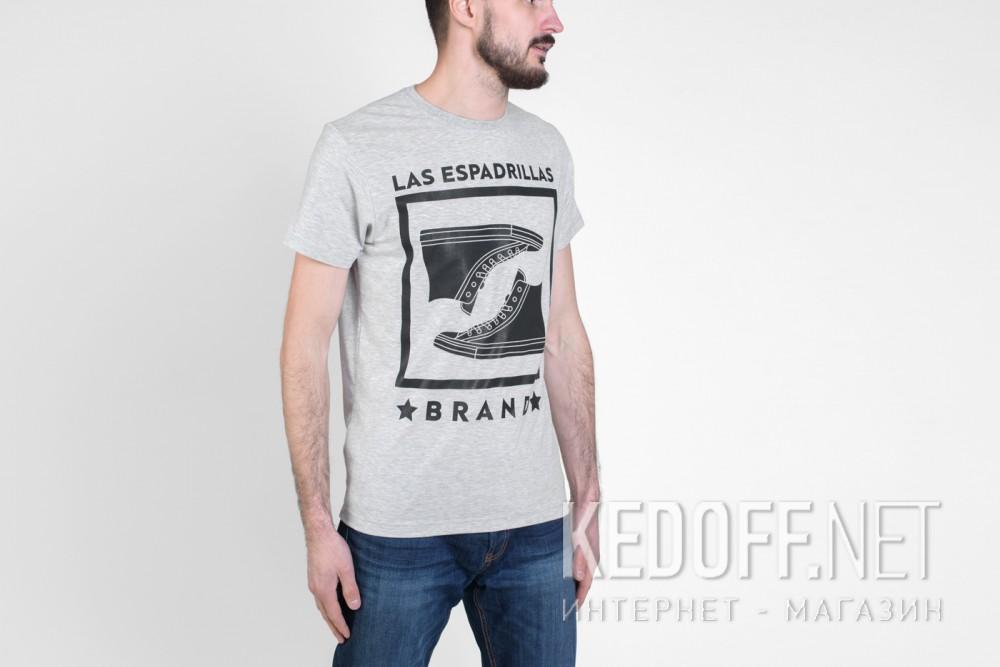 Футболки Las Espadrillas 46530-G858   (серый) купить Украина