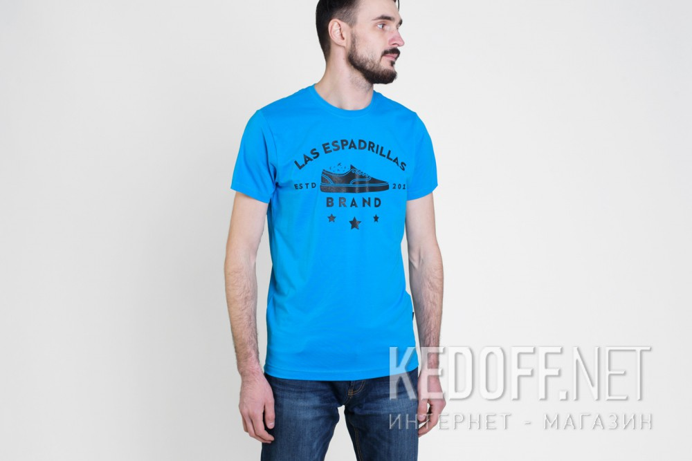 Футболки Las Espadrillas 46531-C450   (голубой) купить Украина