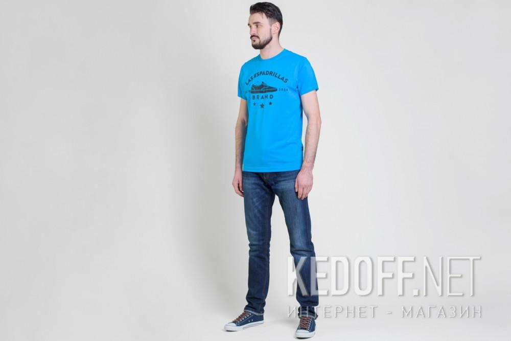 Футболки Las Espadrillas 46531-C450   (голубой) купить Киев