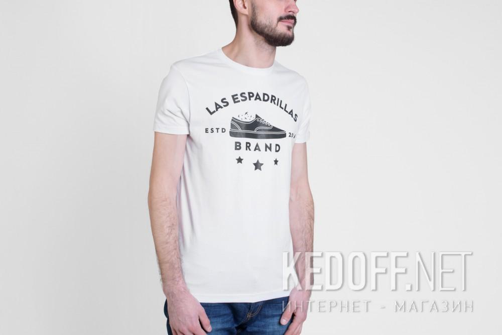 Мужские футболки Las Espadrillas 46531-F255   (белый) купить Украина