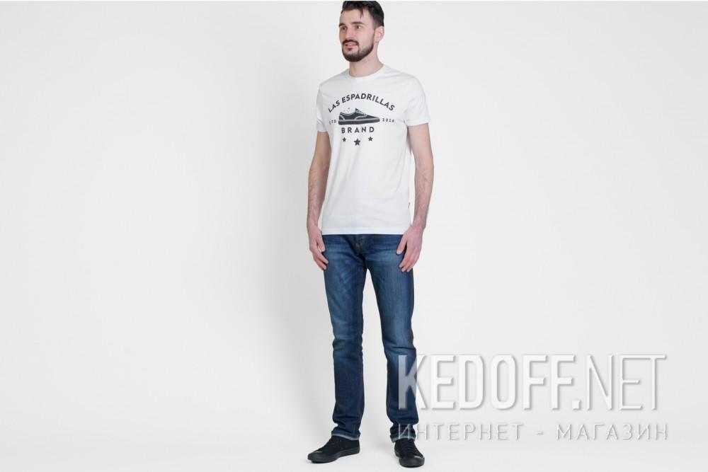 Мужские футболки Las Espadrillas 46531-F255   (белый) купить Киев