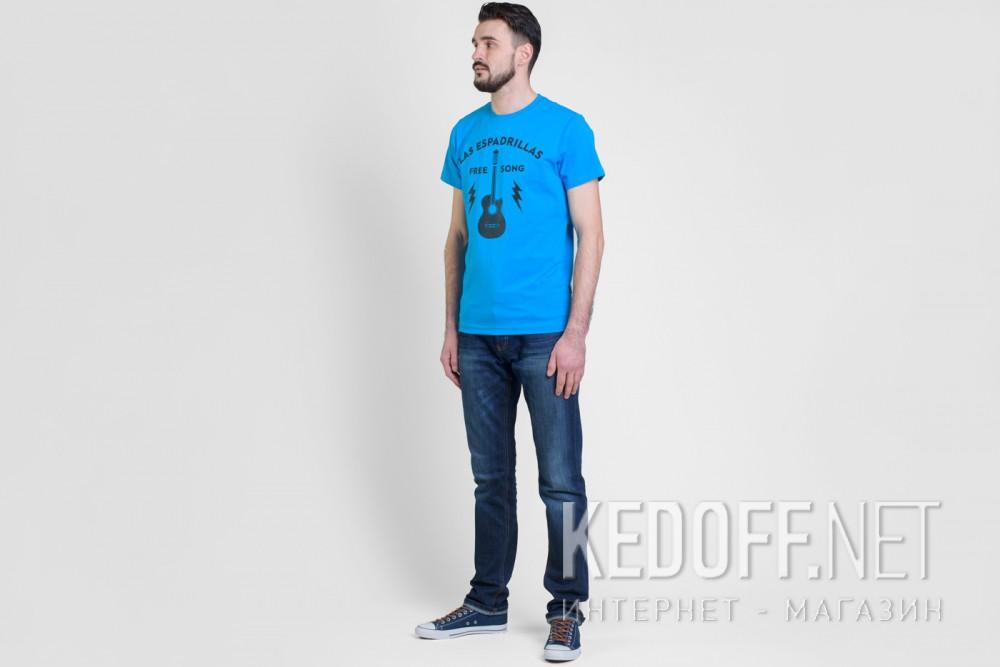 Футболки Las Espadrillas 46532-C450 (голубой) купить Киев