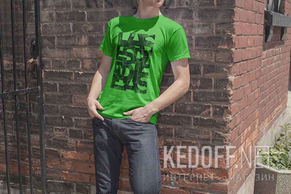 Мужские футболки Las Espadrillas 405104-H153   (зеленый) купить Украина