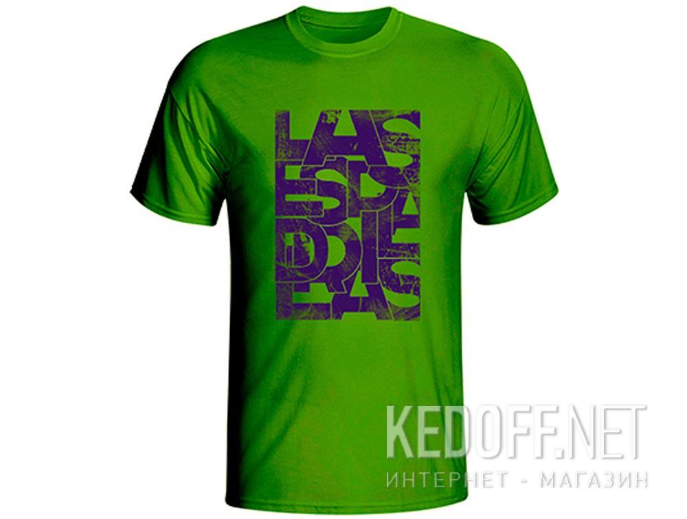 Купить Мужские футболки Las Espadrillas 405104-H153   (зеленый)