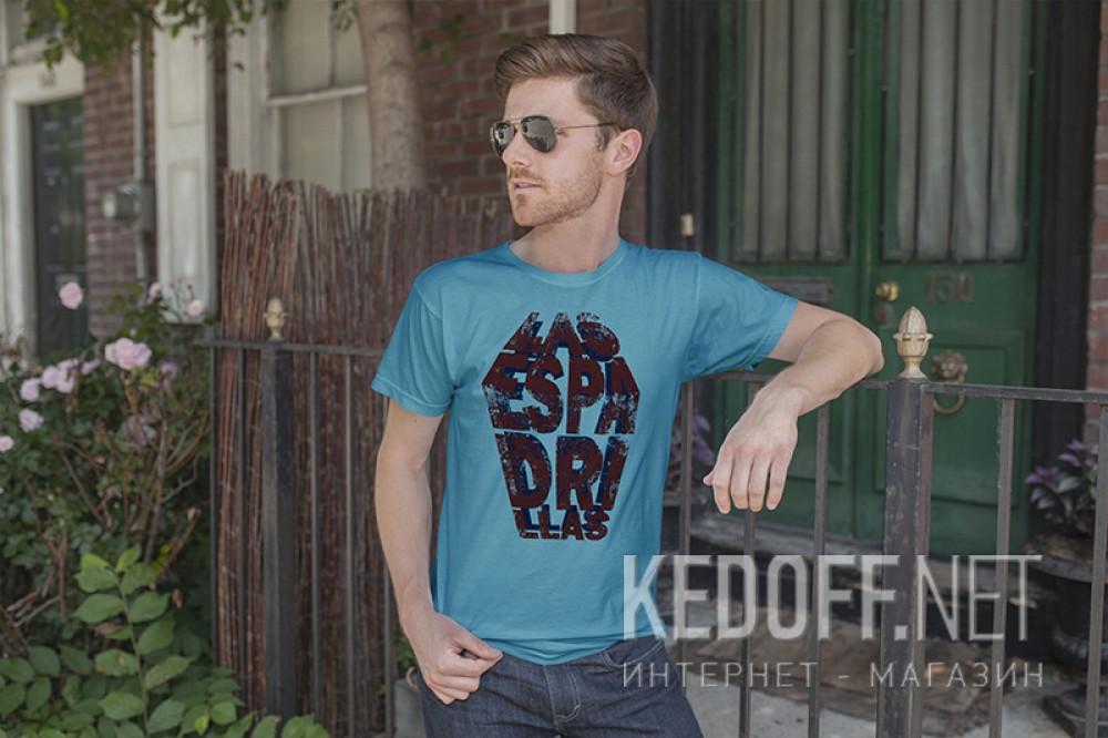 Мужские футболки Las Espadrillas 405106-C308   (голубой) купить Украина
