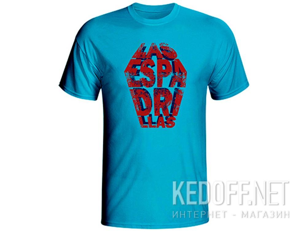 Купить Мужские футболки Las Espadrillas 405106-C308   (голубой)