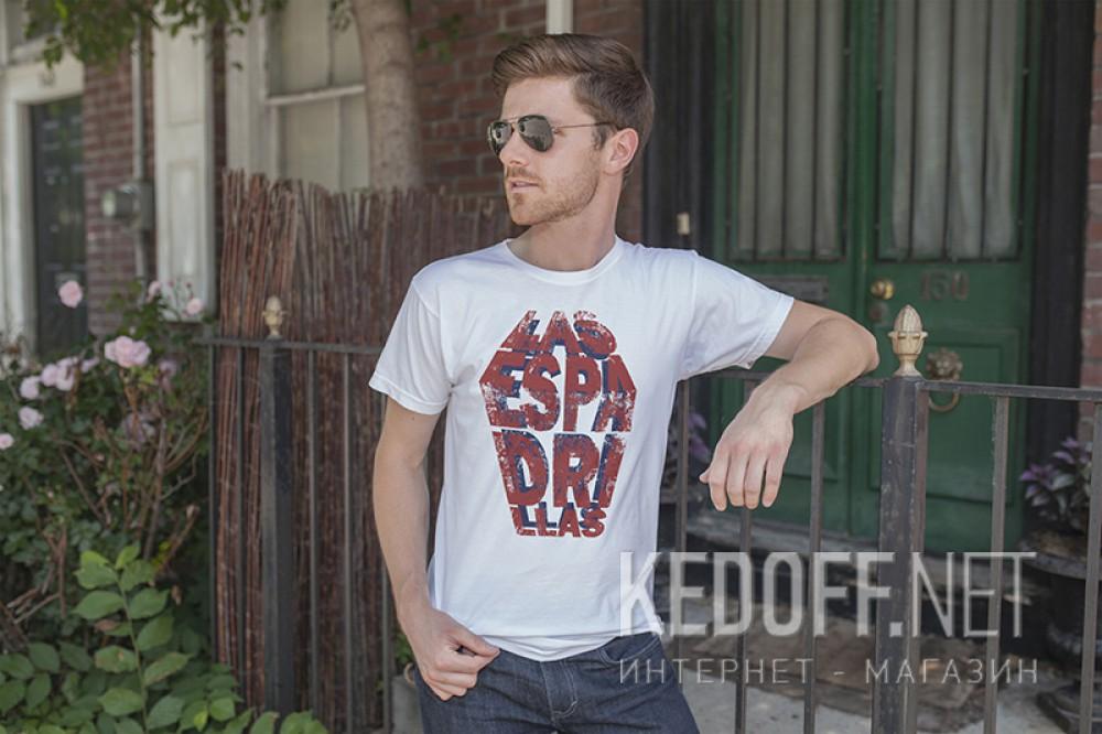 Мужские футболки Las Espadrillas 405106-F255   (белый) купить Украина