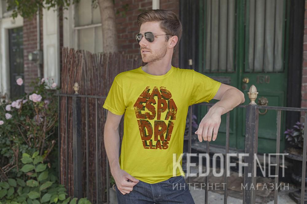 Мужские футболки Las Espadrillas 405106-F565   (жёлтый) купить Украина